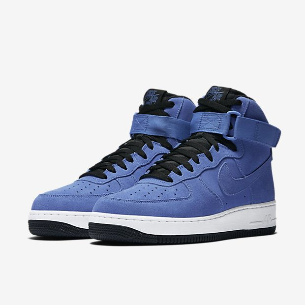 Nike Air Force 1 High 07 Blue Black White Comet Blue