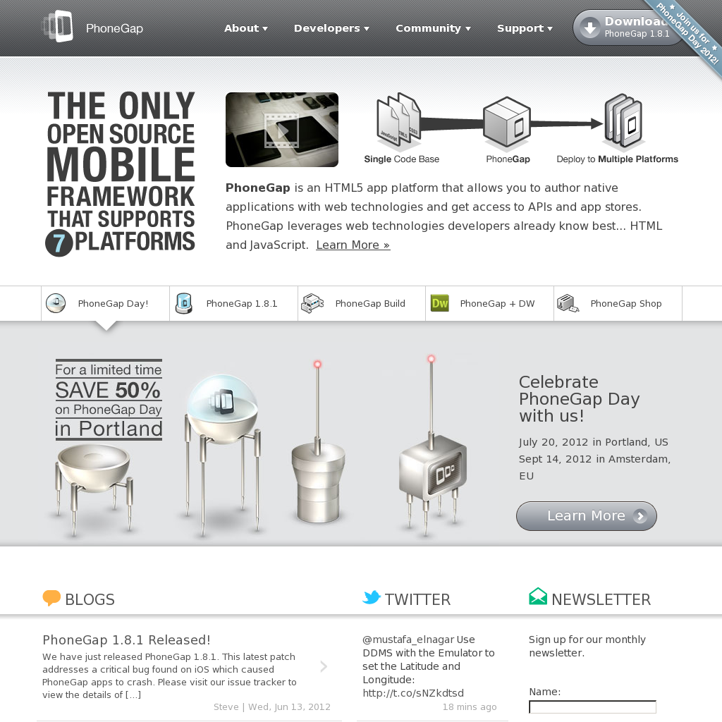 Loving the iconography on this website @phonegap
