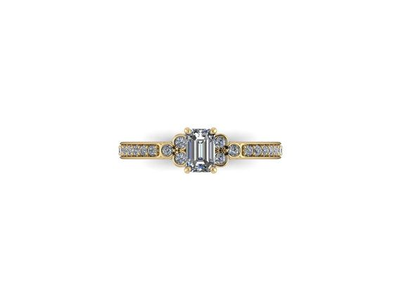 Sweet, elegant, and understated, the Violet bezel cluster solitaire is as timeless as love itself! You like dainty, well crafted items, which