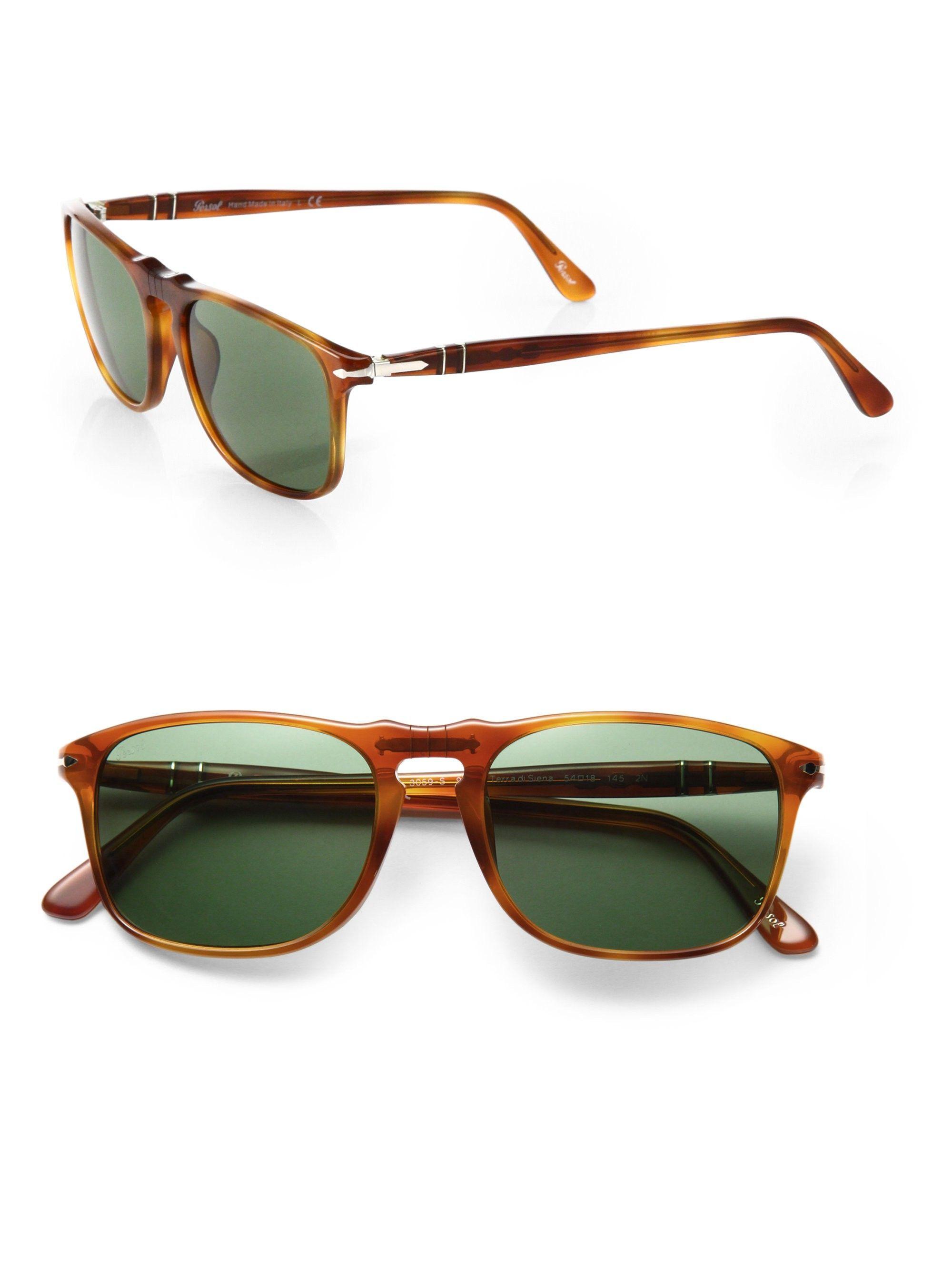 1372da6d2a9950 Persol Suprema 54Mm Square Sunglasses - Light-Brown   Sunglasses For ...