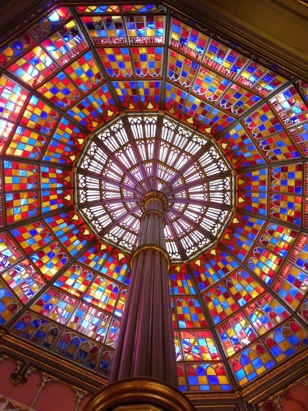 Glass ceiling at Baton Rouge's Old State Capital