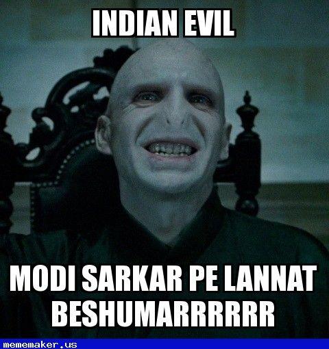 3ecbc87e606ce758533730f3567585f0 awesome meme modi sarkar lord voldemort meme creator