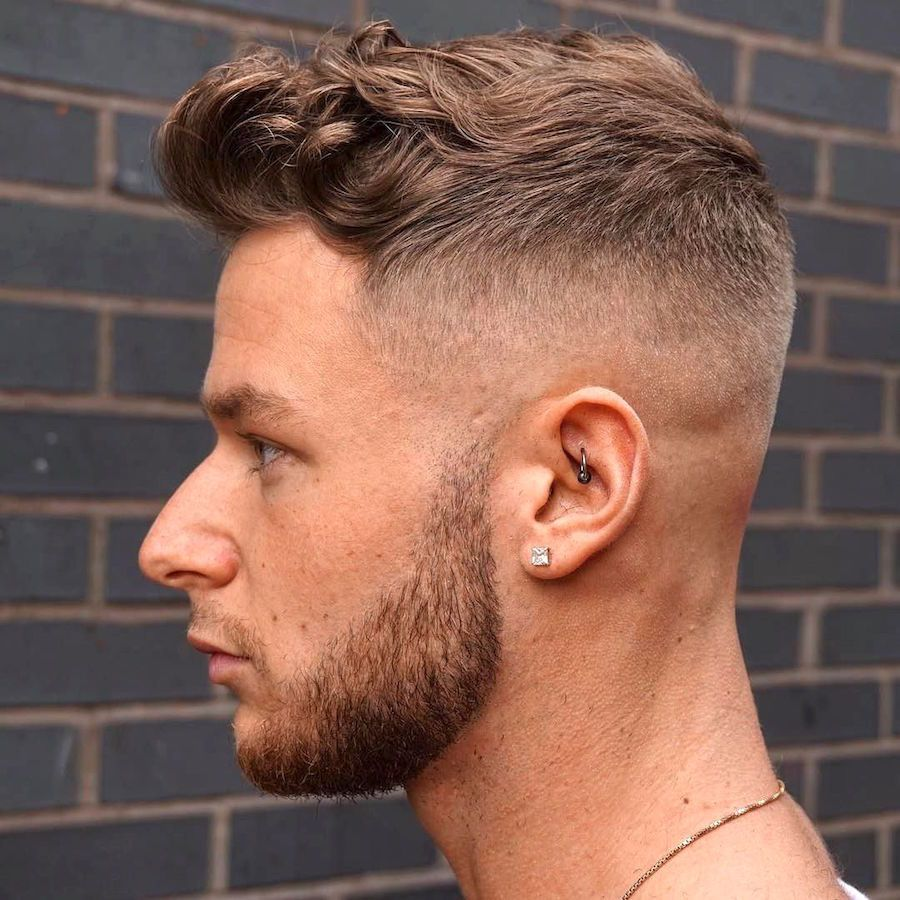 21 Curly Hair Men S Hairstyles Mid Fade Haircut Curly Hair Fade Wavy Hair Men