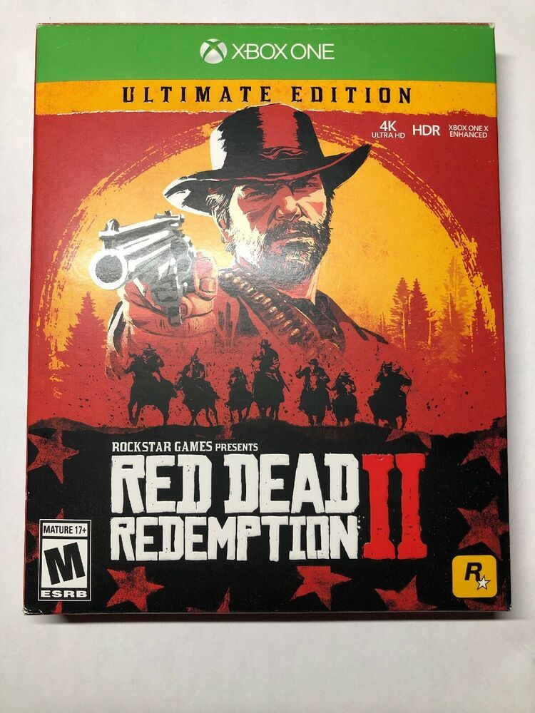 Red Dead Redemption 2 Ultimate Edition Xbox One X Box 1 Brand New Xb1 Xbx1 Reddeadredemption Gaming Xbox Red Dead Redemption Red Dead Redemption Ii Xbox One