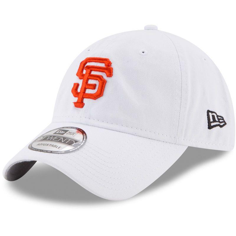 5e91f60cea508 San Francisco Giants New Era Team Sharpen 9TWENTY Adjustable Hat - White