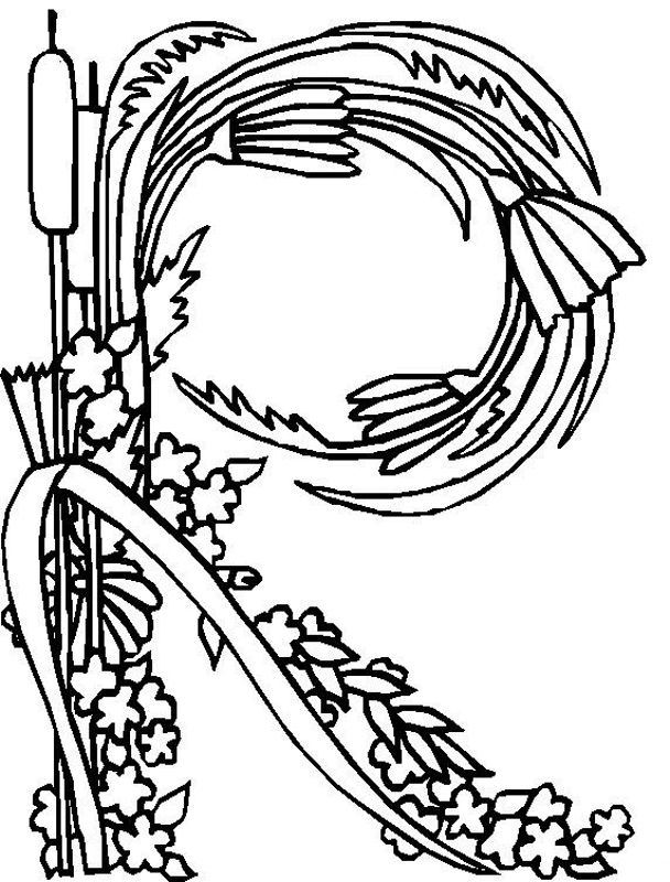 R Coloring Pages Coloring Pages Alphabet Coloring Pages Coloring Letters