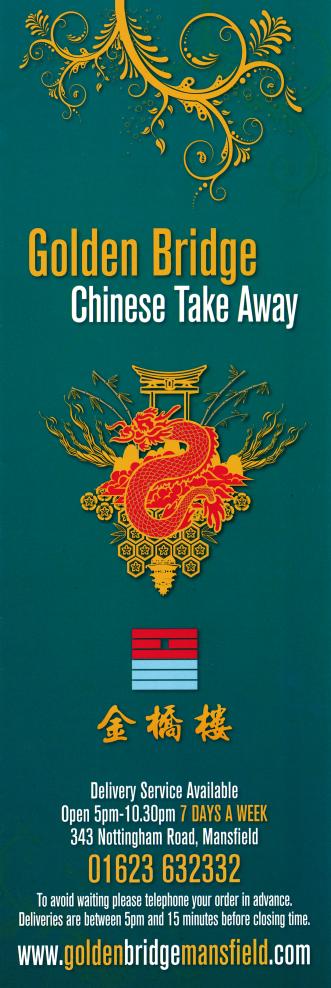 Pin On Mansfield Chinese Takeaway Menus