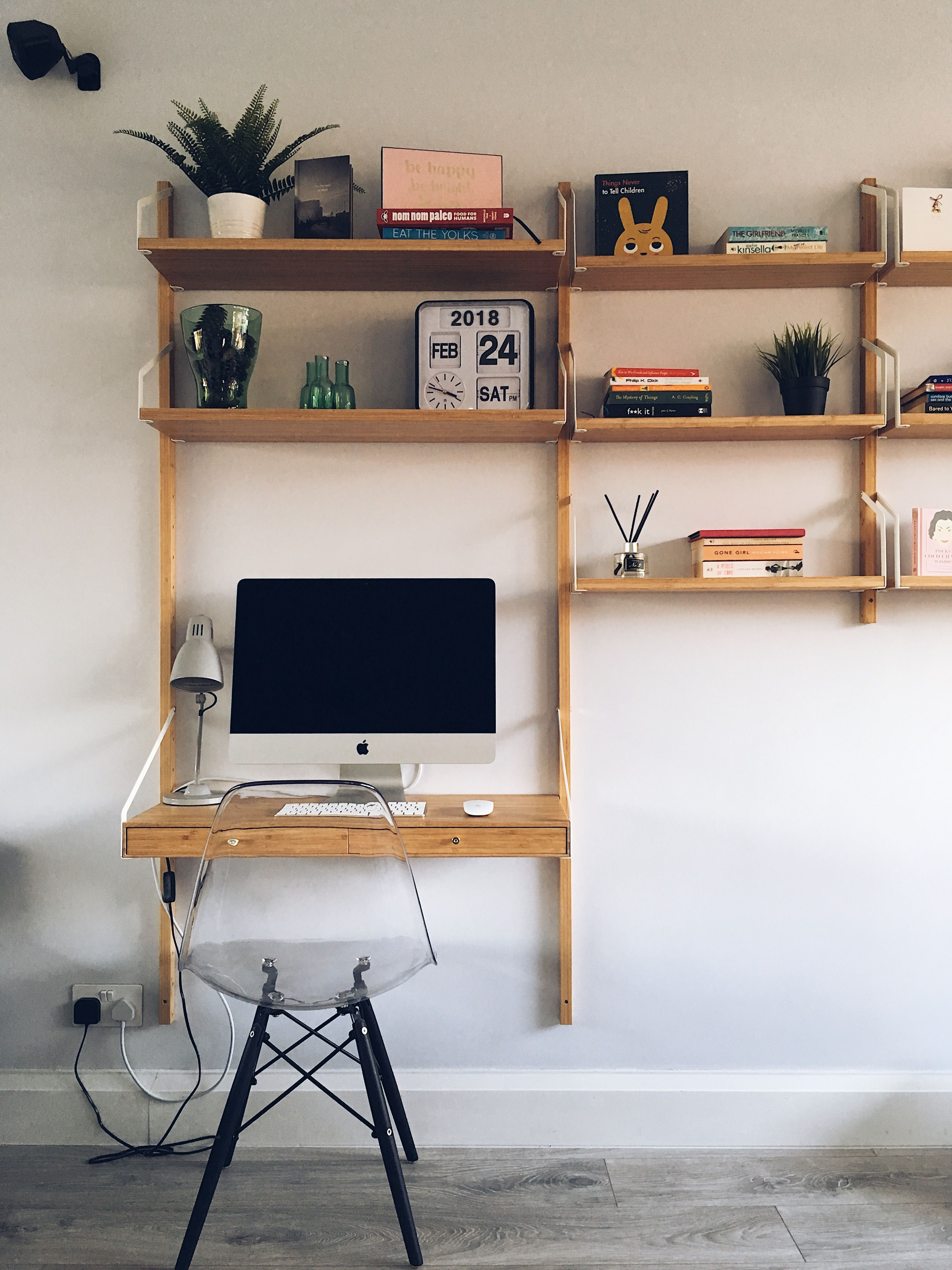 Svalnas Ikea Workspace And Shelving System Home Office Design