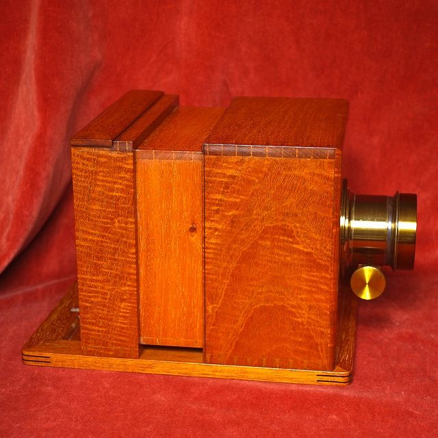 Sliding Box Tintype Camera I Have Already Drawn Out The Plans I