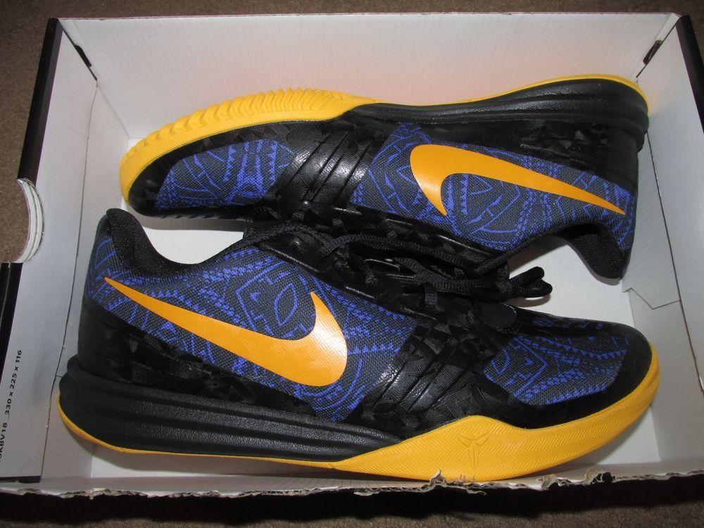 9bb834b0f342 Nike KB Mentality Low Mens Basketball Shoes 11.5 Persian Violet Black  704942 501  Nike