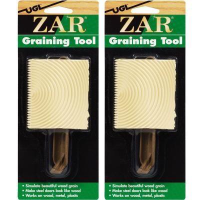 ugl zar graining tool 2 pack rv home depot tools packing rh pinterest com