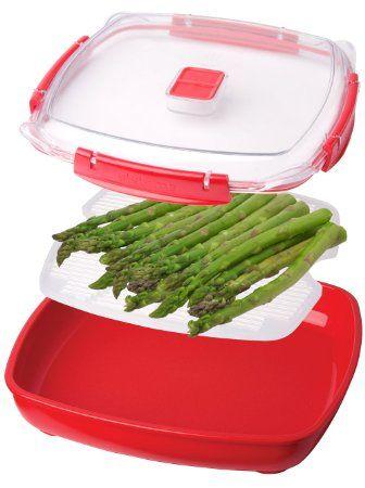 Amazon Com Sistema Medium Microwave Plate Random Colors Food Savers Kitchen Dining Microwave Plate Small Microwave Square Plates