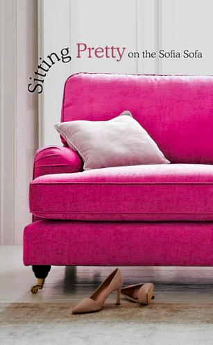 ❤ Be brave and choose a pink sofa and you will be sitting pretty ...