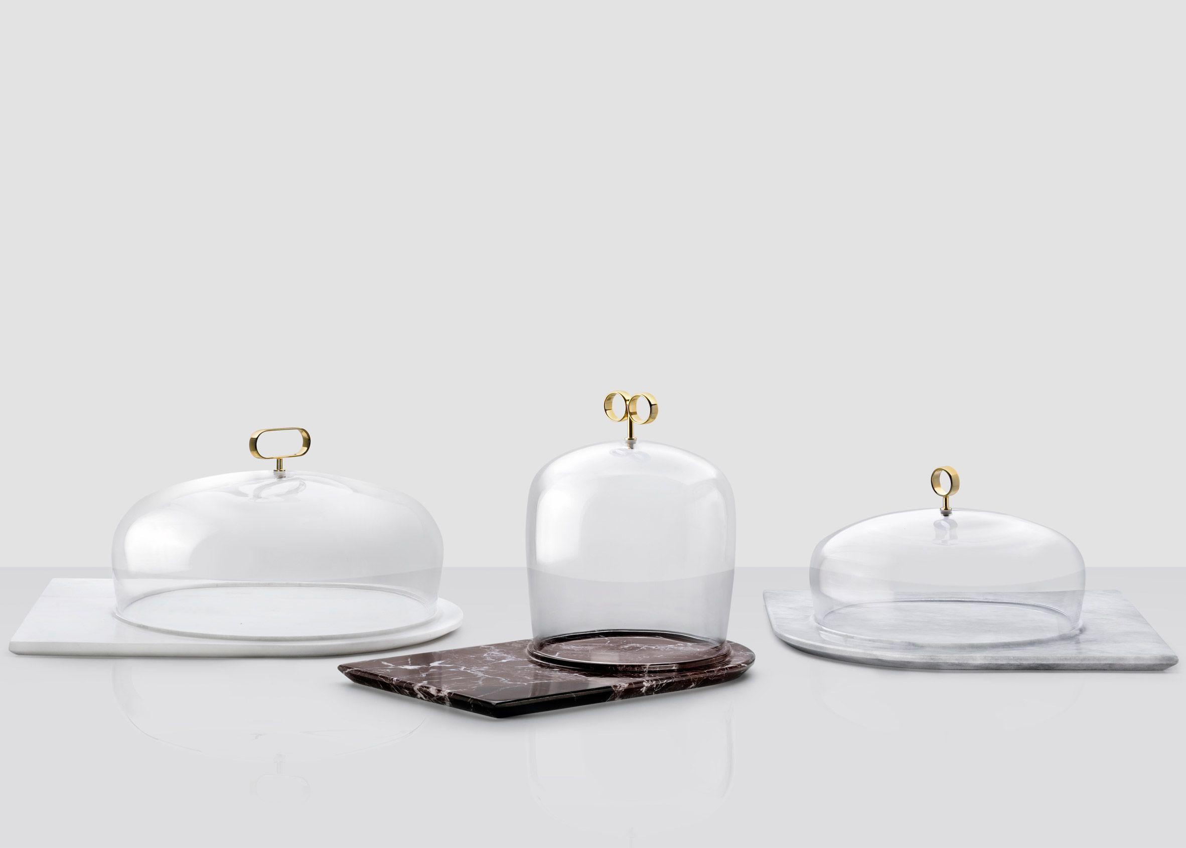Joe Doucet and Inga Sempé design glassware for Nude