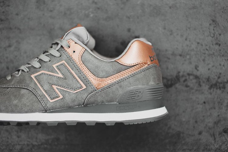 metallic new balance 574