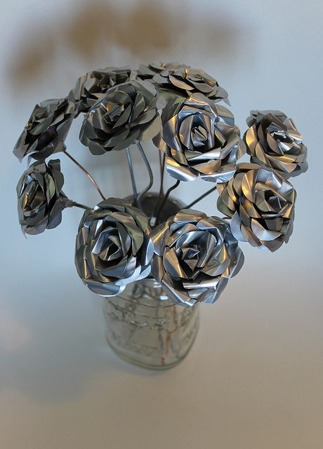 Make Metal Flowers