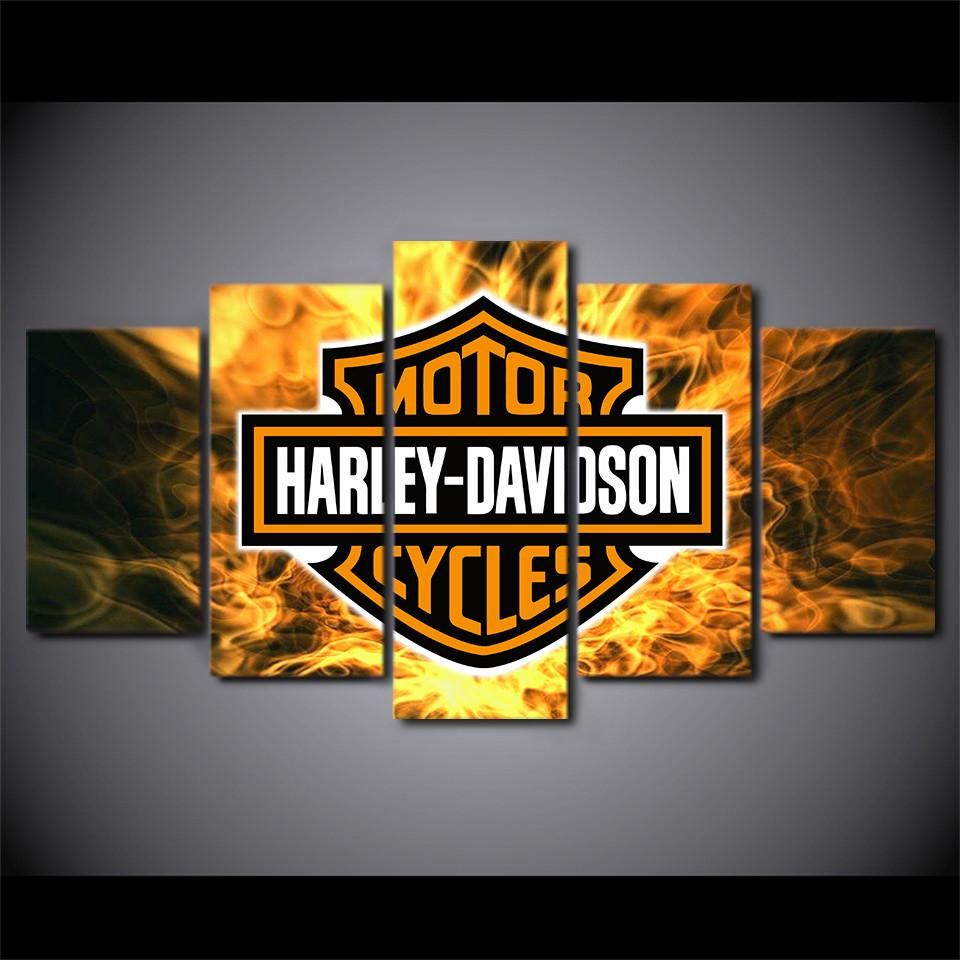 Huis Wall Decal Bar Sign Harley Davidson Wooden Harley Motto Pub Signs 3 Piece Black Luxclusif Com