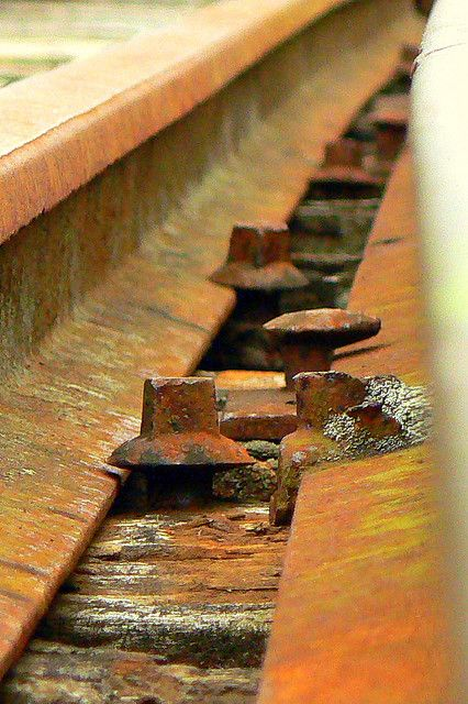 #rust rusty tracks