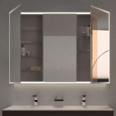 Spiegelschrank nach Maß mit LED-Beleuchtung Aurel 989705647 Bad