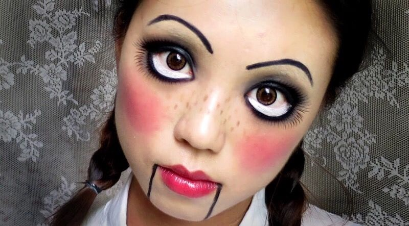 Puppet face makeup Costumes Pinterest Face makeup - face makeup ideas for halloween