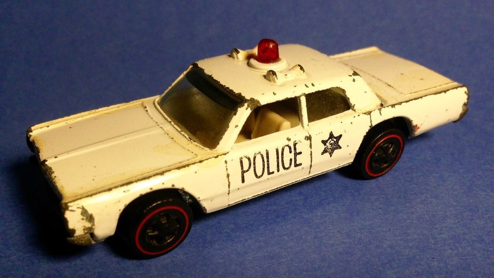Vintage 1968 Mattel Hot Wheels Redline Era Police Cruiser Toy Car Ebay Mattel Hot Wheels Toy Car Vintage Hot Wheels