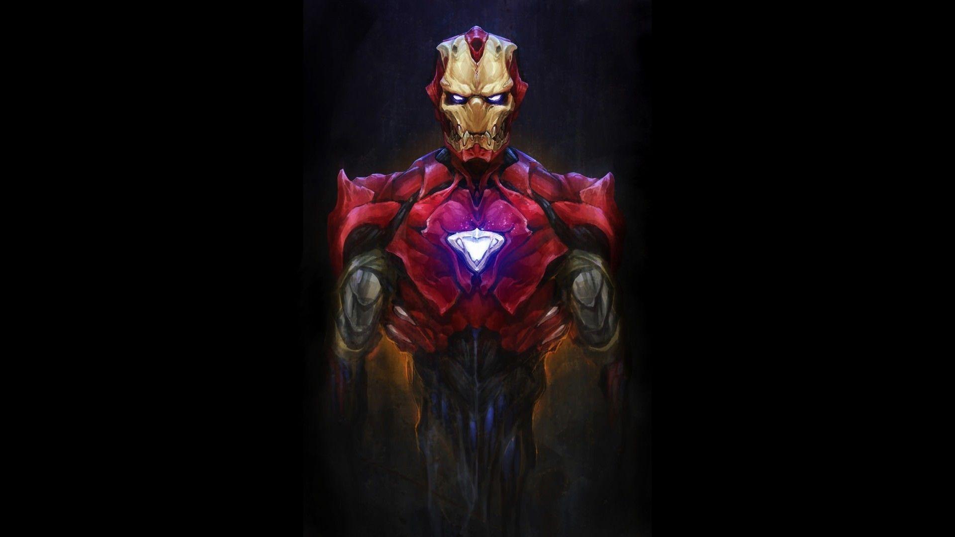 Suit Android Artwork Marvel Comics Bionic Evil 1920x1080