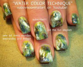 Simples Week 10 Watercolour Bases Robin Moses Nail Art Nails