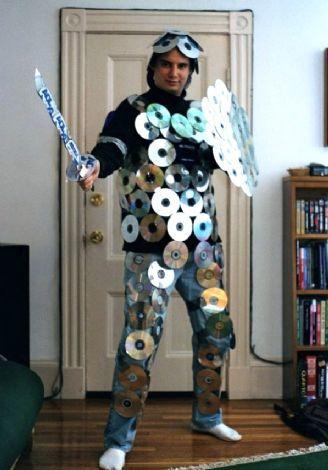 diy nerd in shining armor contest homemade halloween costume idea - Funny Home Made Halloween Costumes