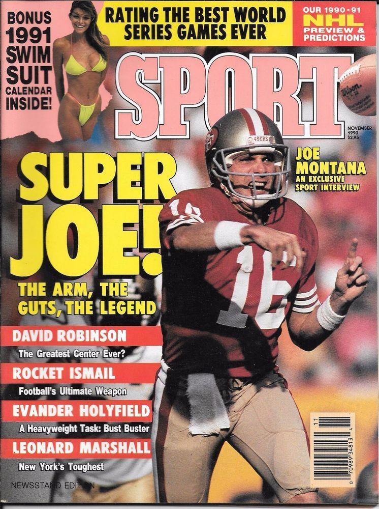 Sport Magazine, November 1990, 1991 Swimsuit Calendar