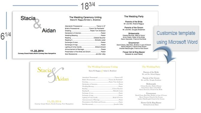Customize z-fold program template in Word bat mitzvah ideas - syllabus template