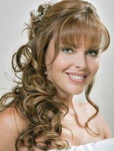 Un look impactante con cara alargada peinados Fotos de tendencias de color de pelo - Recogidos de novia cara alargada - Peinados faciles
