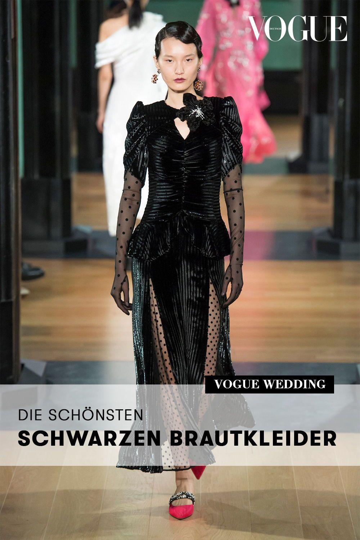 Wurden Sie Ein Schwarzes Brautkleid Tragen Diese Braute Trauten Sich Schwarzes Brautkleid Brautkleid Abendkleid Schwarz
