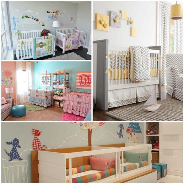 Babyzimmer Mädchen und Junge einige kombinierte