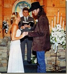 Blake Shelton and Kaynette Gern's wedding