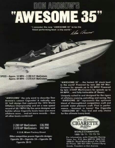 Cigarette Awesome 35 Boats Offshore Boats Power Boats Boat