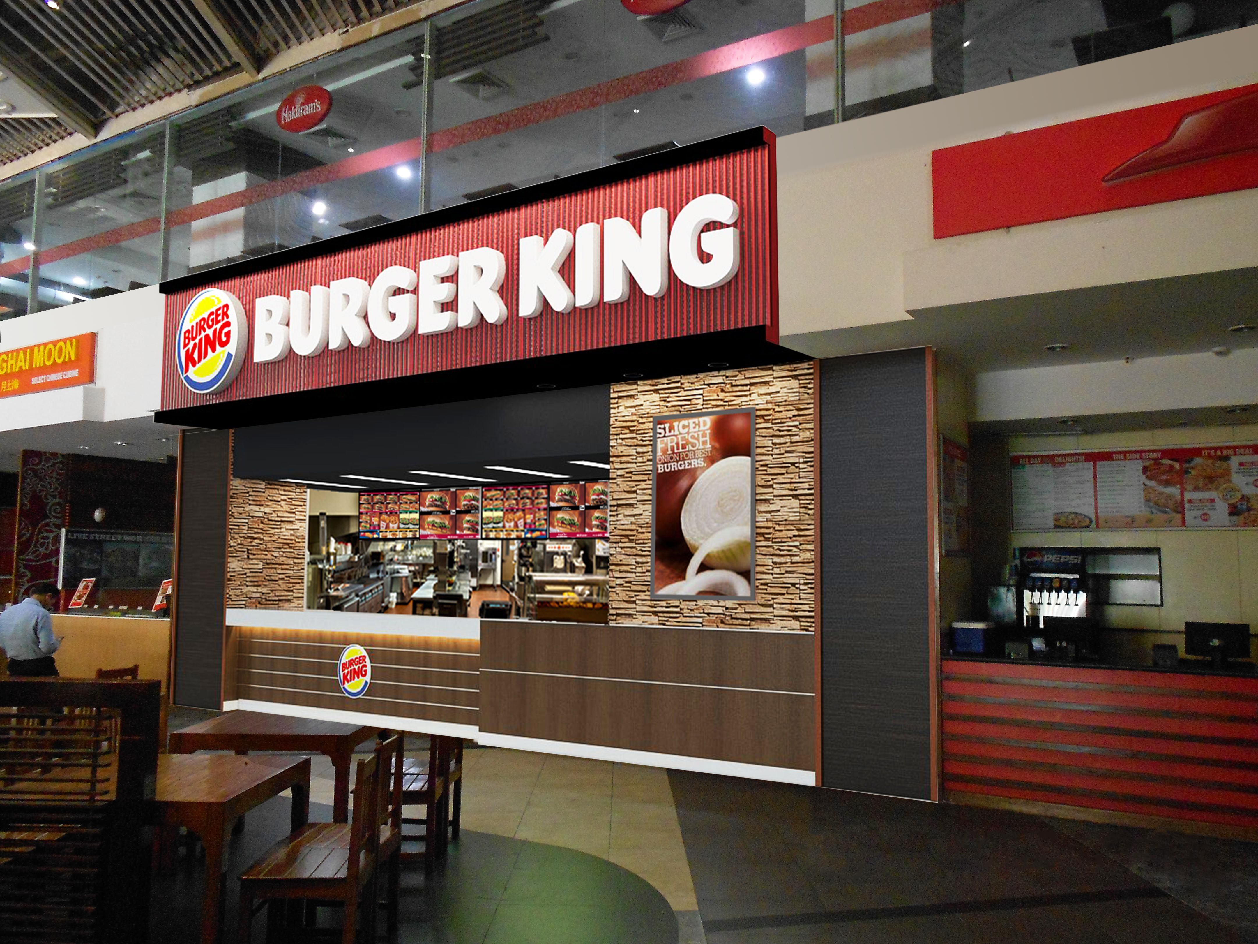 3d visualised by me burger king pinterest