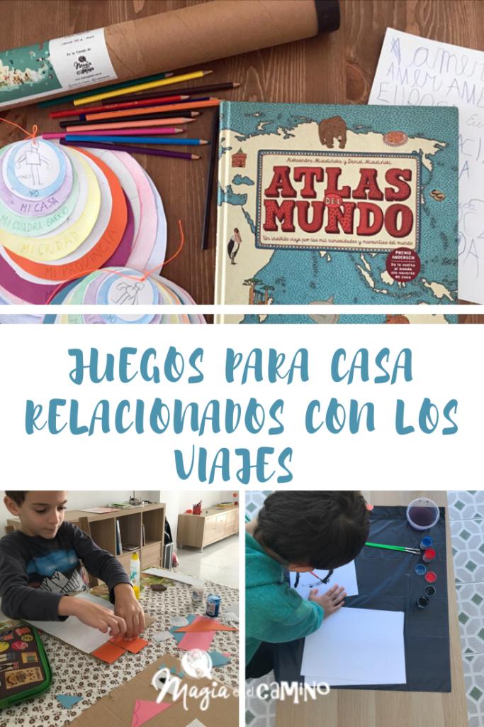 Juegos Para Hacer Con Los Niños En Casa Relacionados Con Los Viajes Magia En El Camino Baseball Cards Blog Cards