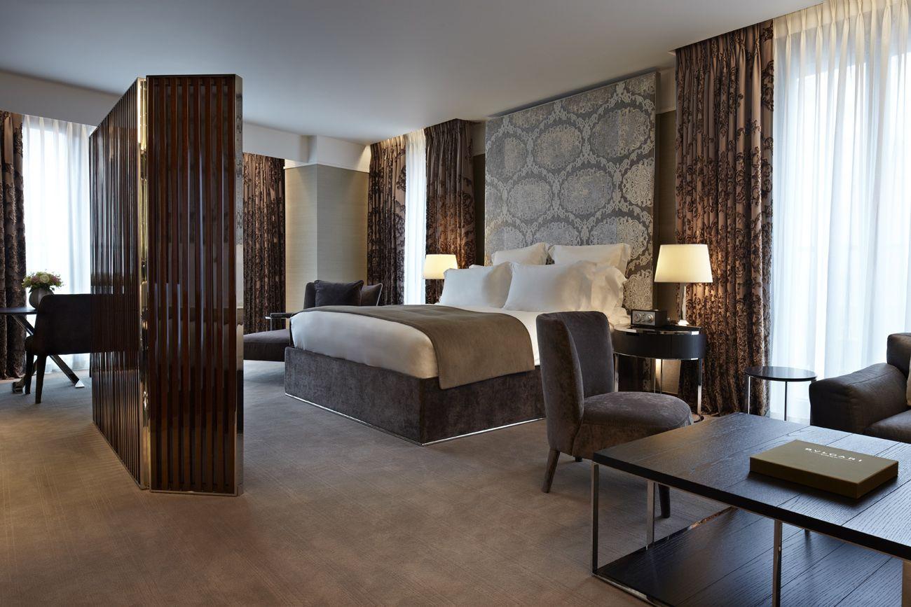 Studio Suite, London luxury hotel Bulgari 5 Star Hotel