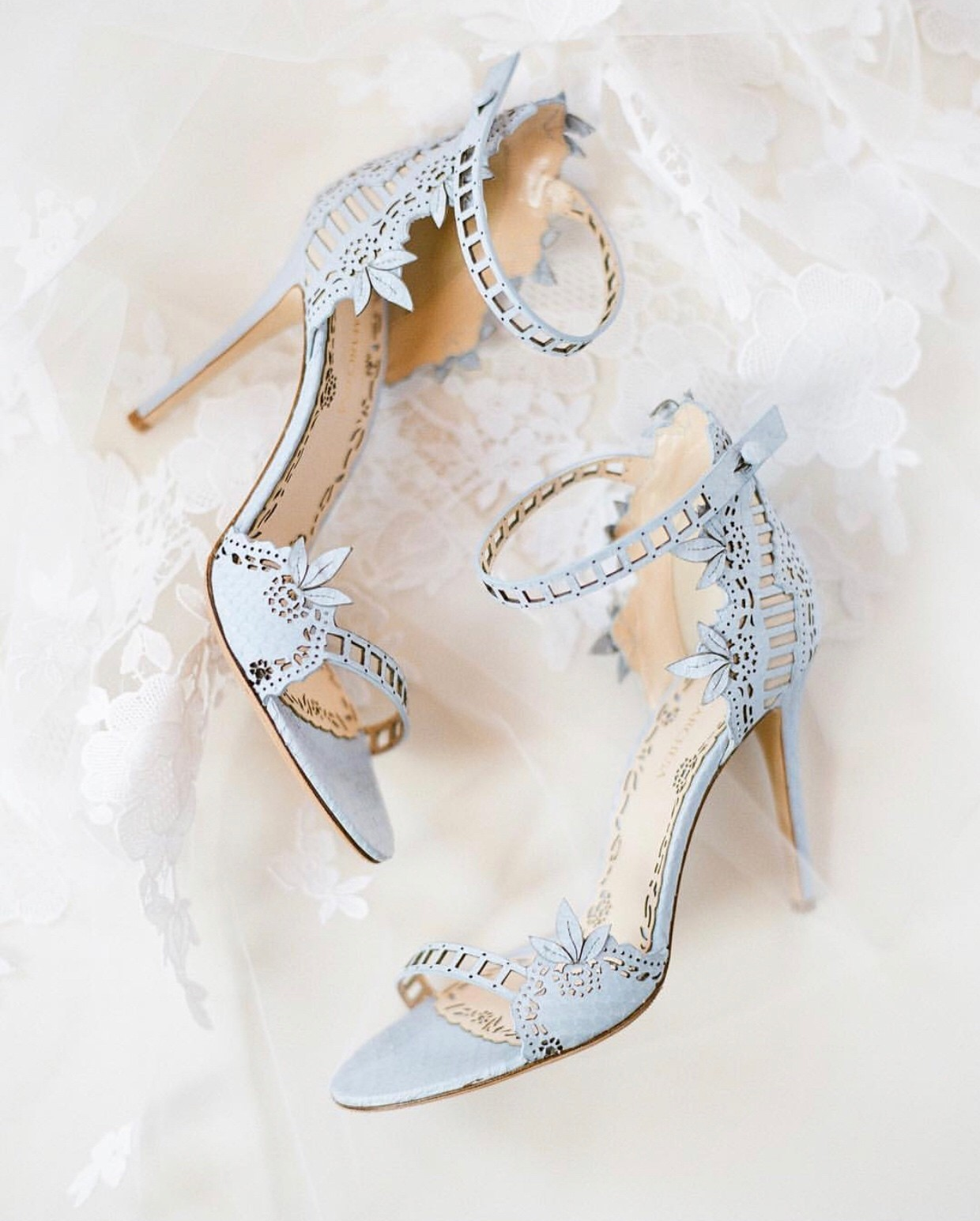 Something Blue Wedding Shoes | How Gorgeous Are These Wedding Shoes For Your Something Blue
