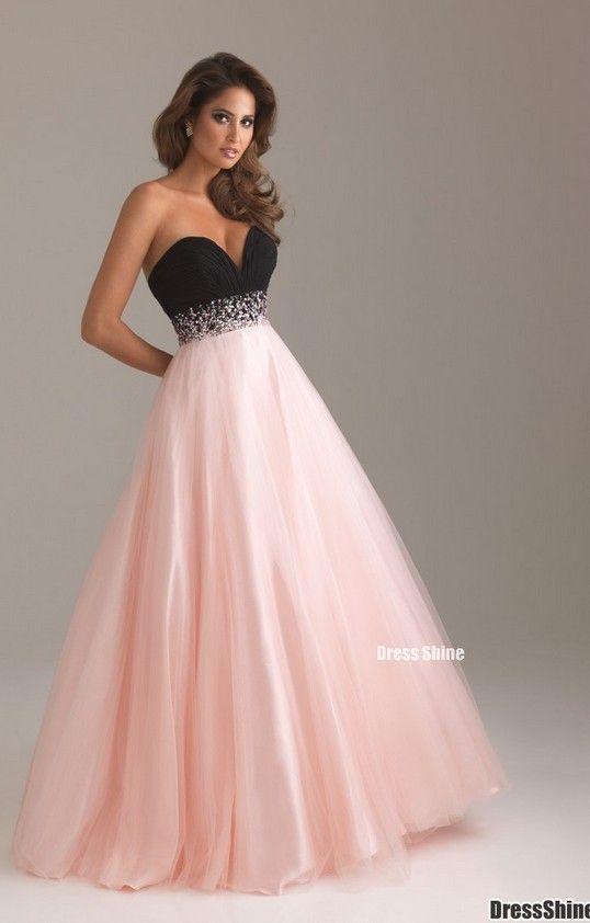pink prom dress pink prom dress | PARIS THEME DEBUT | Pinterest ...
