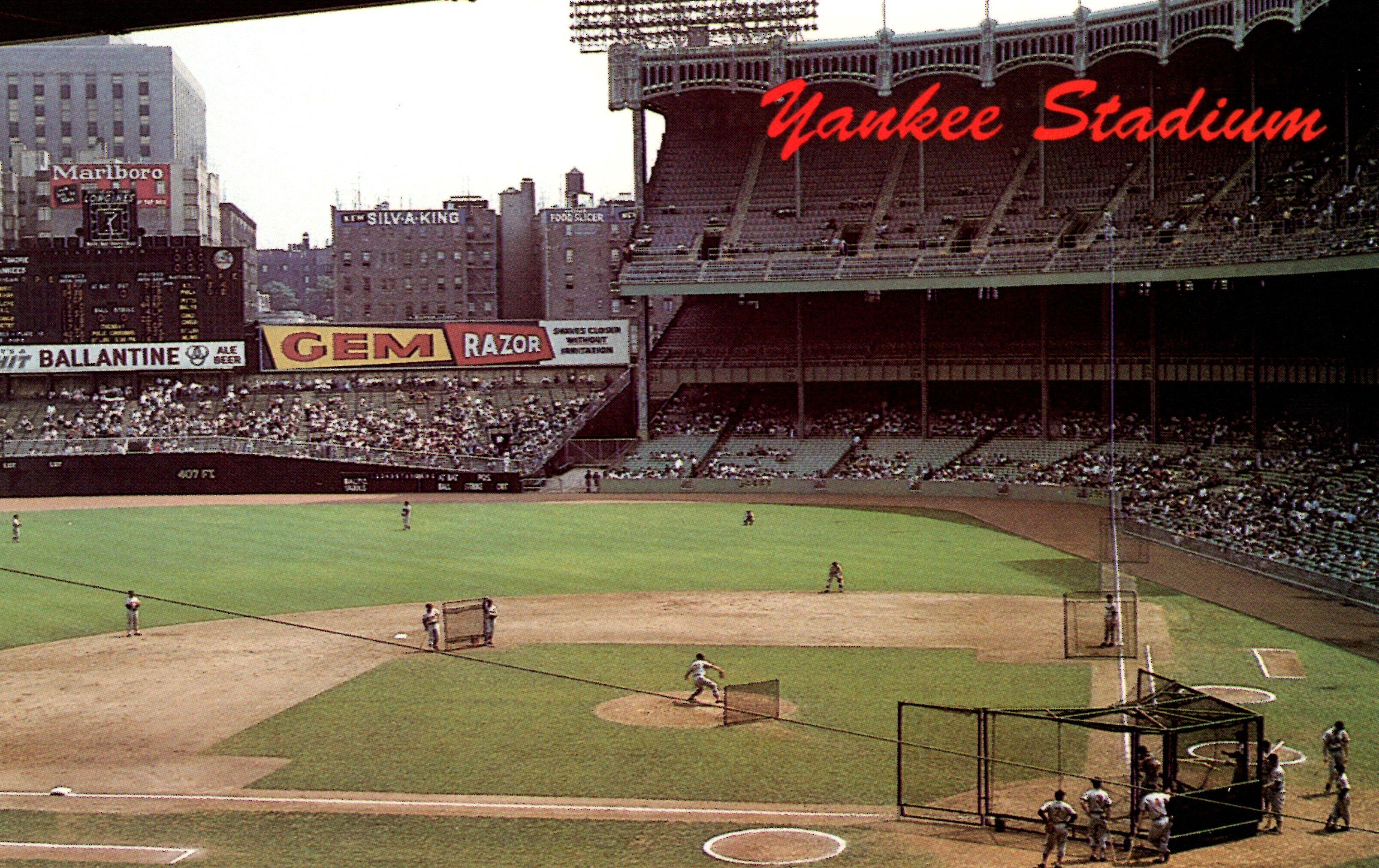 My Collection Chrome 17003 E Three Star Yankee Stadium Orioles Baseball Stadium