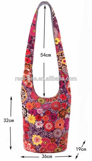 Vintage Women Hippie Hobo Shoulder Bag Large Crossbody Messenger Bags Floral Pri