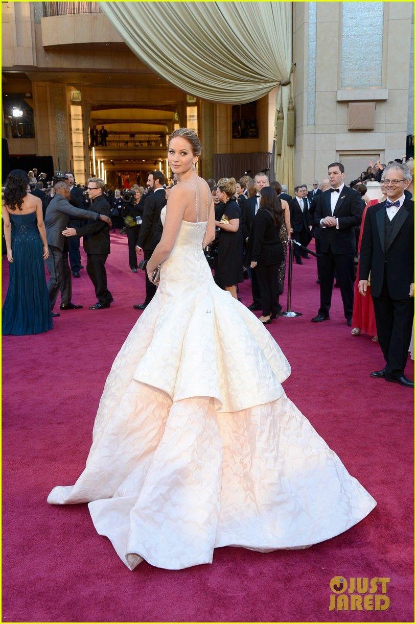 Jennifer Lawrence also won best dress if you ask me...