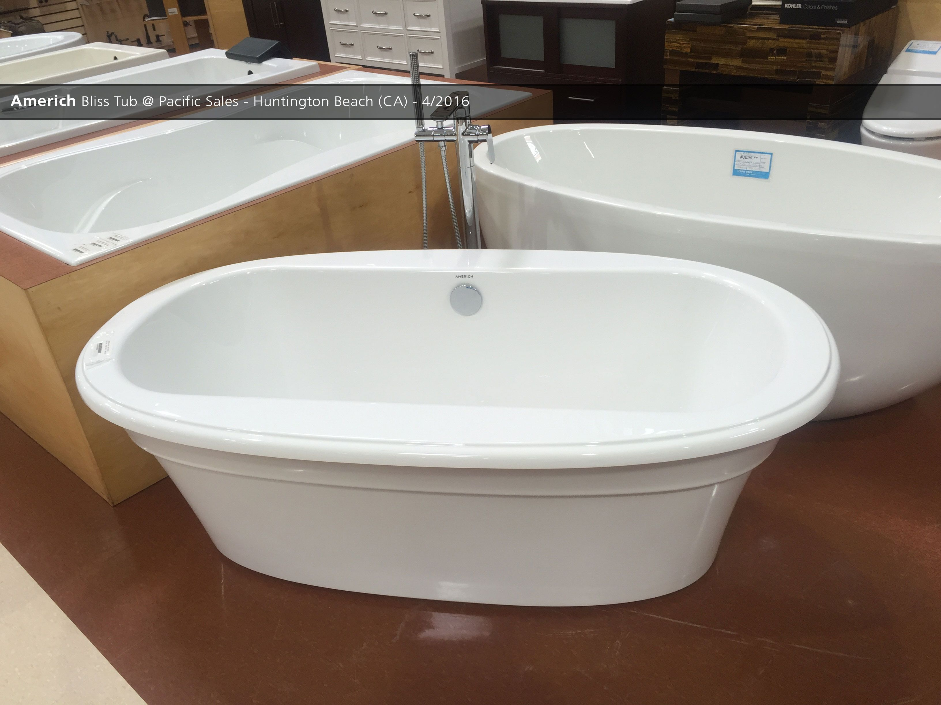 Bathroom Fixtures Huntington Beach americh bliss tub @ pacific-sales-huntington-beach (ca) - 4/2016