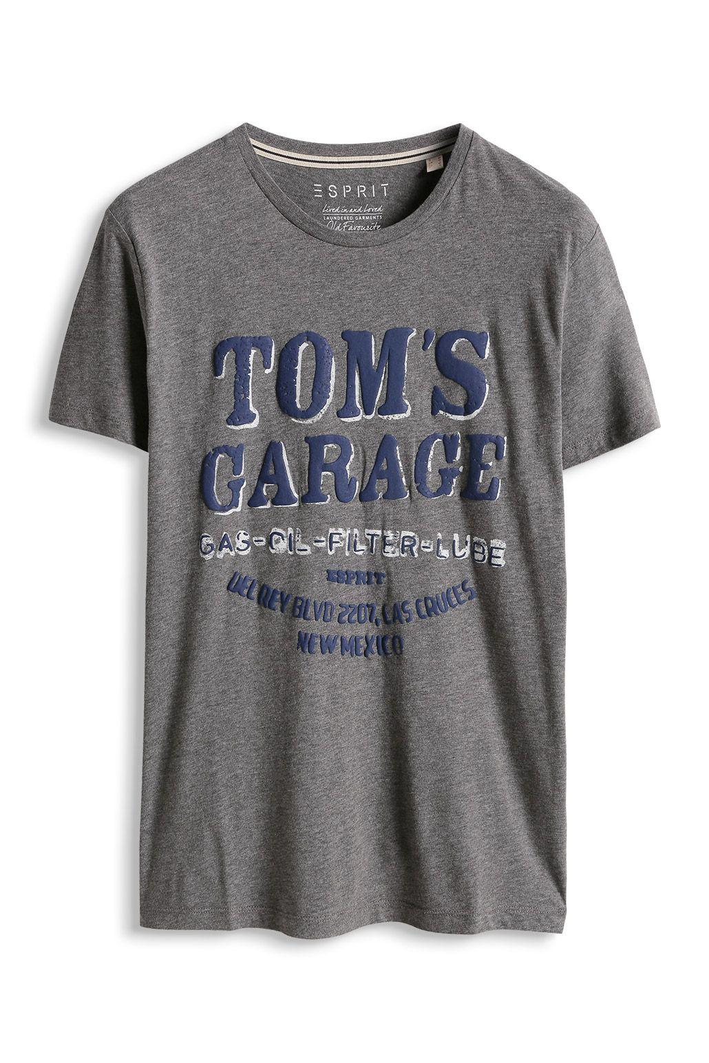 ESPRIT Herren-T-Shirt Single-Jersey