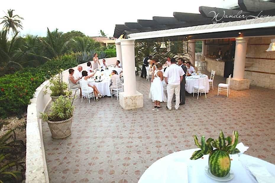 Dreams Punta Cana Resort Wedding Reception At Portofino Terrace Via Wanderloveweddings