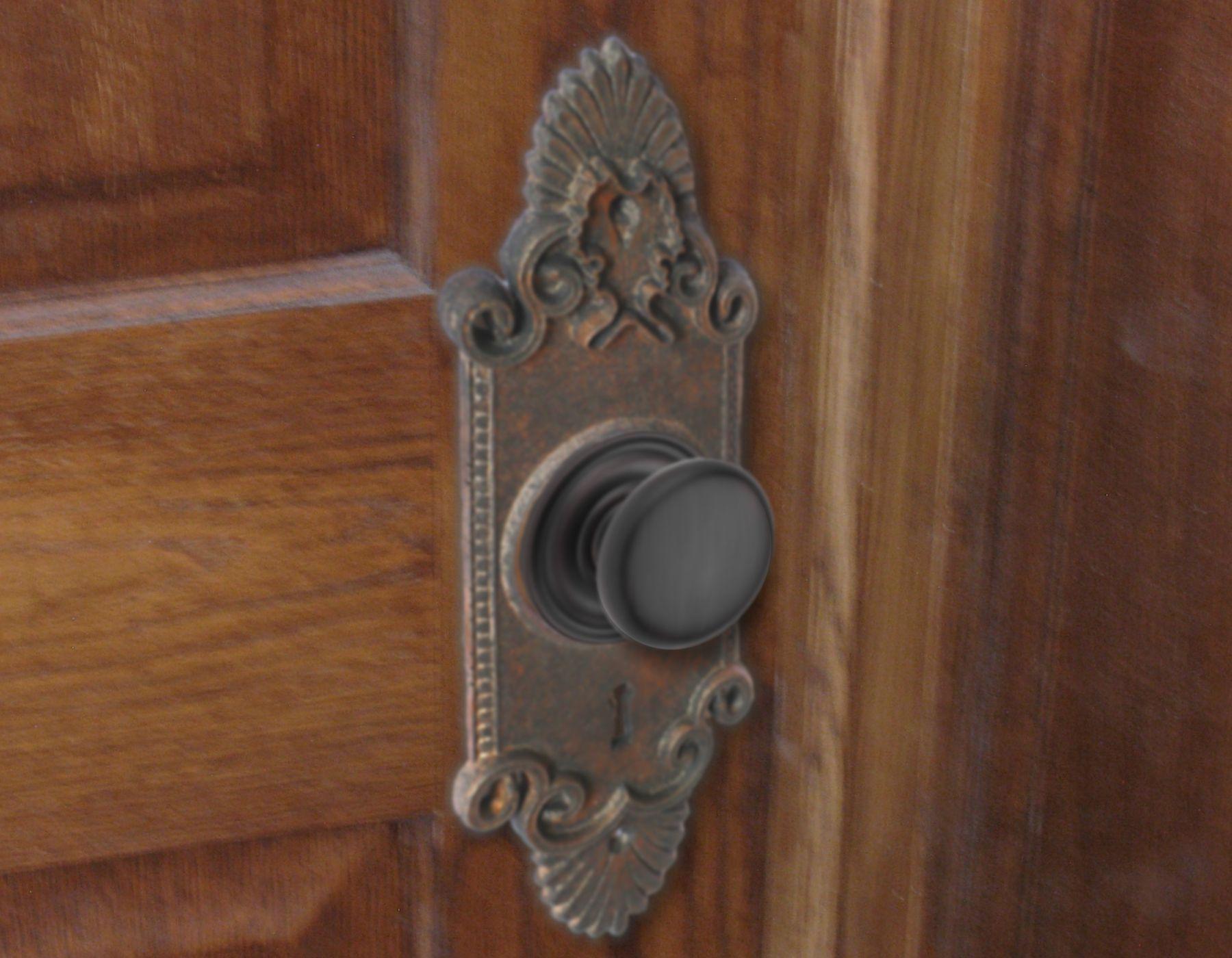 Vintage Door Knob Escutcheons