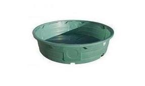 610 Gallon Green Poly Round Stock Tank Round Stock Tank Stock Tank Plastic Stock Tanks