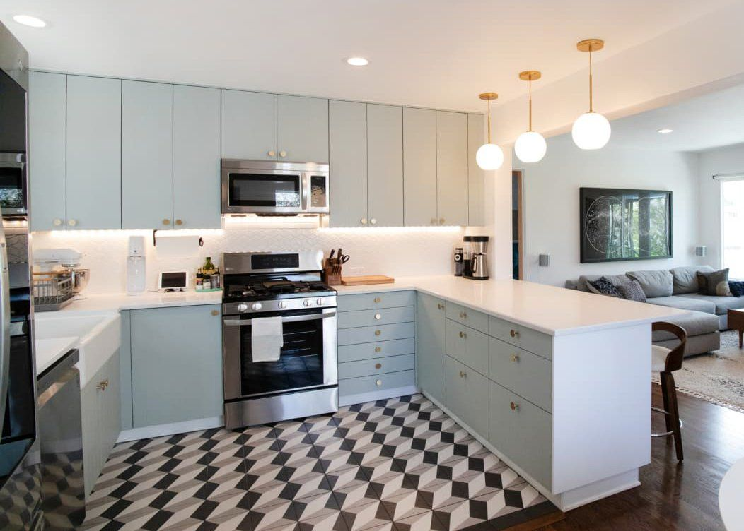 Dated Kitchen Gets An Incredible Remodel Eclectic Remodel Remodel Eclectic Kitchen