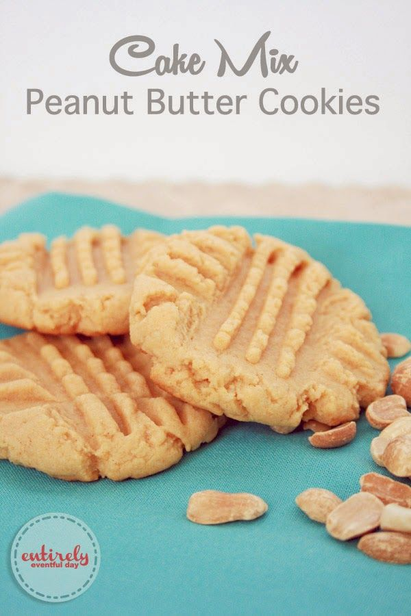 Recipes for cookies using yellow cake mix